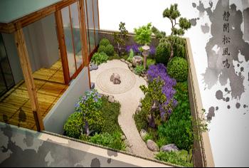 天津别墅景观设计