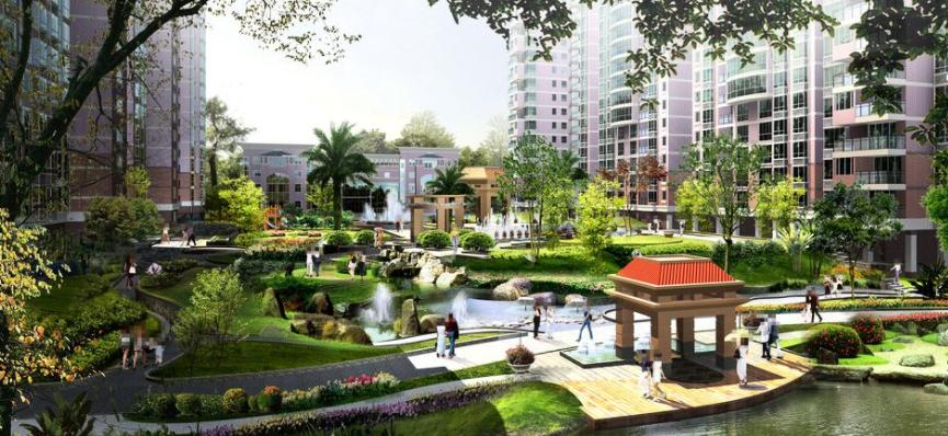 天津花园景观设计植被如何维护