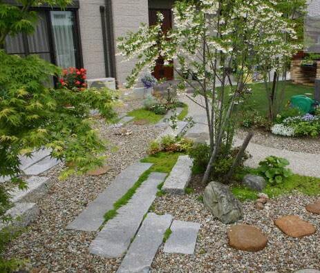 天津庭院景观设计有哪些铺装元素
