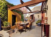 天津私人别墅庭院施工的设计手法有什么
