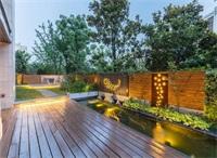天津庭院景观设计中水景设计有什么类型