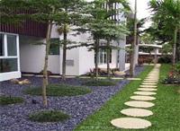 天津庭院景观设计中如何做铺装设计
