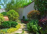 天津私家花园设计中地面铺装要注意什么