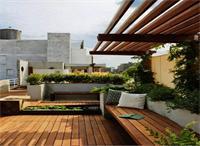 天津庭院景观设计常用的天然木材