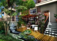天津私家庭院的设计流程