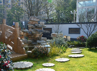 别墅庭院设计中绿植设计 植物新挑选